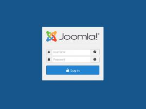 Joomla! administration login