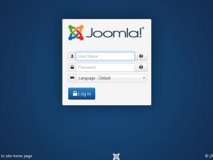 Joomla! 3.x administrator login