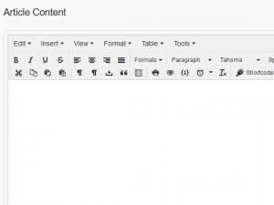 RSForm!Pro Joomla! articles plugin - article content