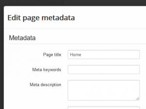 RSSeo! Edit metadata from frontend