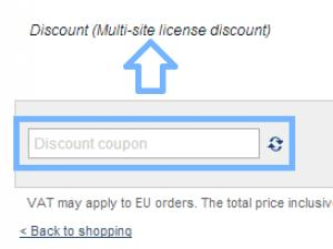 How to check if the discount is added to your order.