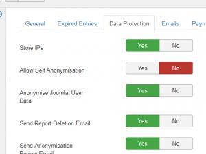 Data Protection configuration