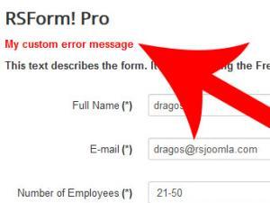 RSForm!Pro form