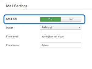 Joomla! 3.2.0 mailing issue