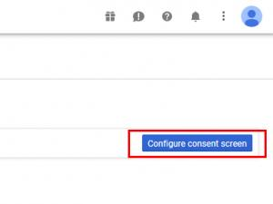 RSSeo! Google Api Console - Configure consent screen