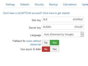 No CAPTCHA reCAPTCHA Plugin