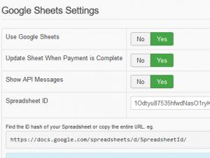 RSForm!Pro - Google Sheets
