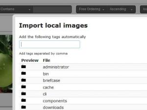 Importing local images