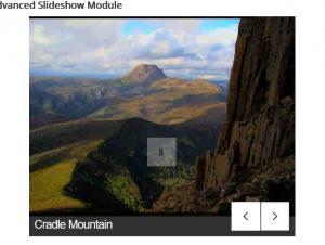 Advanced Slideshow module