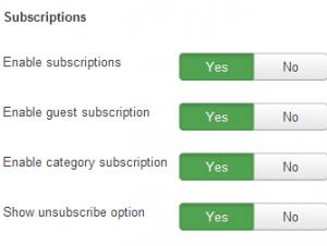 RSBlog! enable Subscriptions
