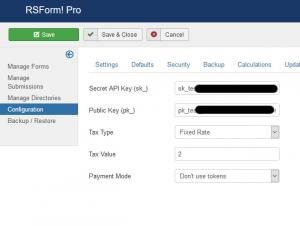 Plugin - Stripe (Create custom order forms)