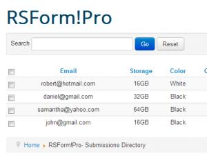 RSForm!Pro