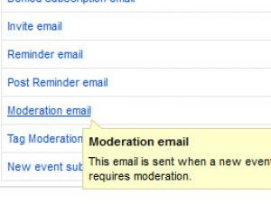 RSEvents!Pro Moderation Email