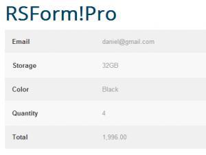 RSForm!Pro - Submissions Directory Menu Item
