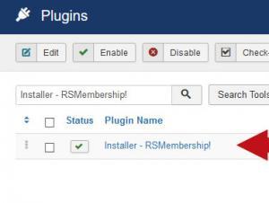 Installer - RSMembership!
