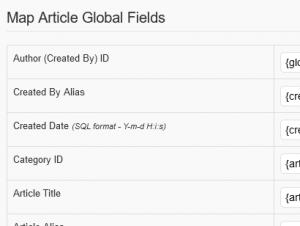 Map Article Global Fields