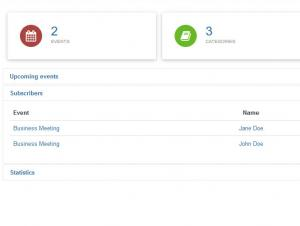 RSEvents!Pro Dashboards Subscribers