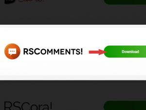 Download RSComments! from our website