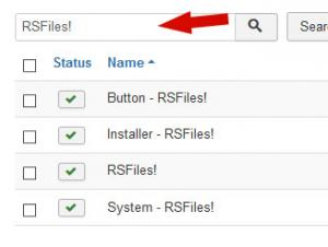 Search for RSFiles!
