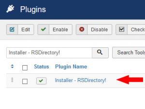 Installer - RSDirectory!