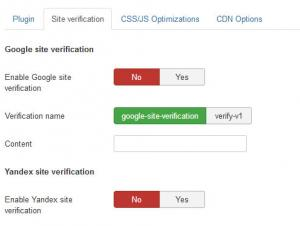 RSSeo! System Plugin Site Verification