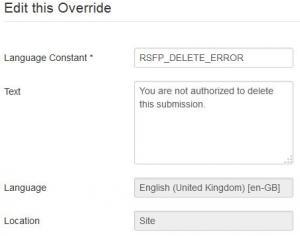 Language override