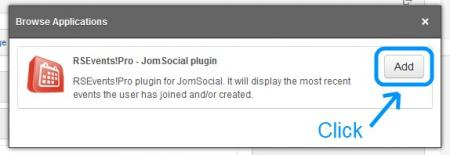 jomsocial browse applications