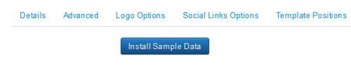 Sample Data Tab