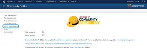 Community Builder Dashboard