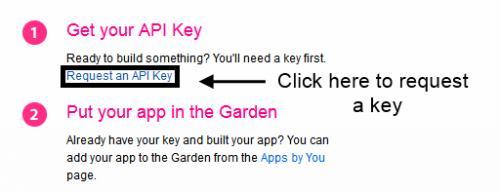 Request an API Key
