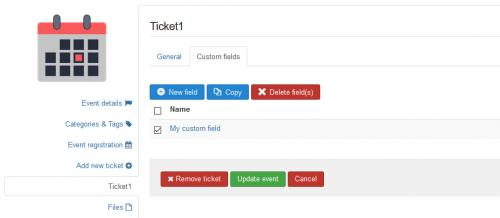RSEvents!Pro Cart Plugin Copy Ticket Fields
