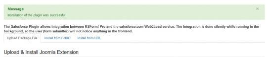 rsform-salesforce-install