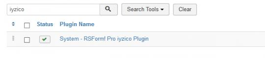After installing the plugin, make sure that this is published.