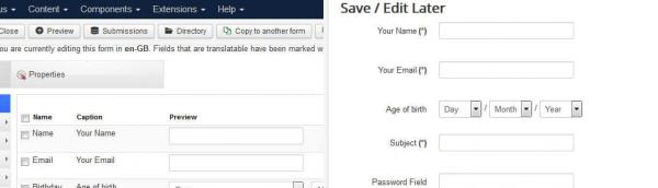 Long form to fill out? Let users save and edit it later - UX is key!