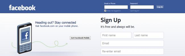 Facebook Get New Account