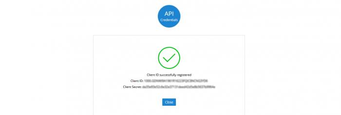 zoho-api-client-id-success
