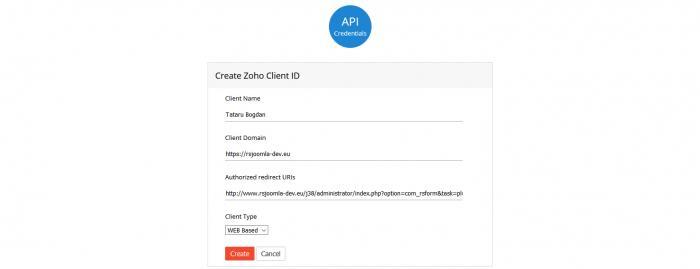 zoho-api-create-client-id