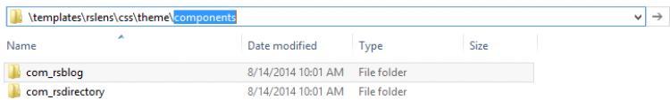 Components Folder