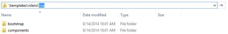 CSS Folder