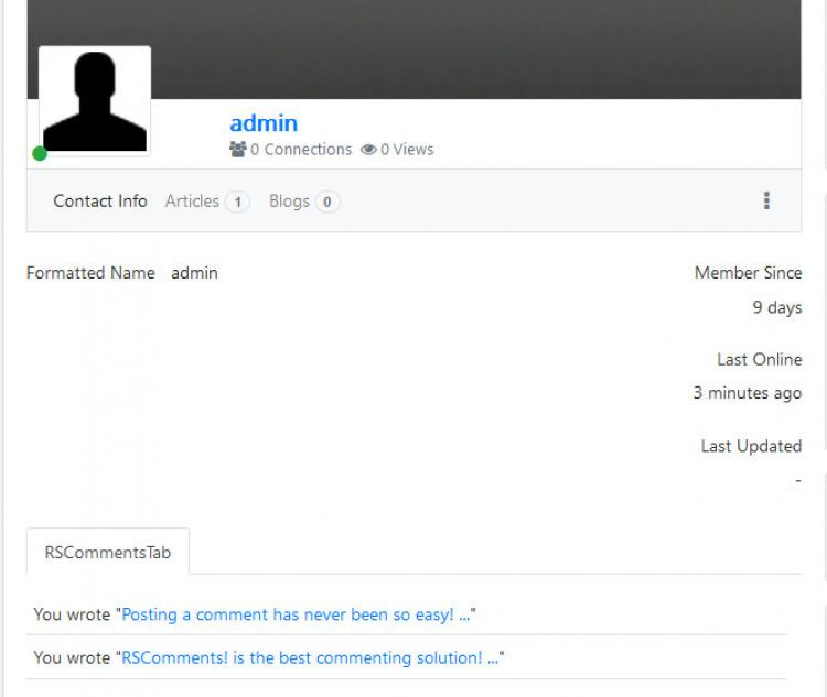 RSComments! - Community Builder Integration
