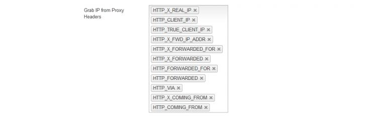 Grab IP from Proxy Headers