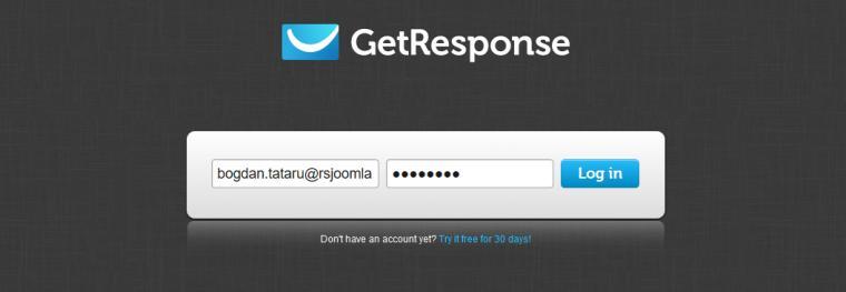 RSForm!Pro GetResponse Tutorial