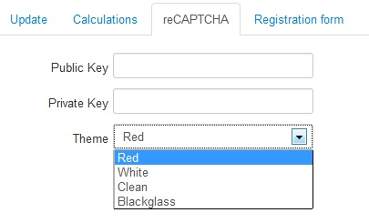 RSForm!Pro - ReCAPTCHA Anti Spam