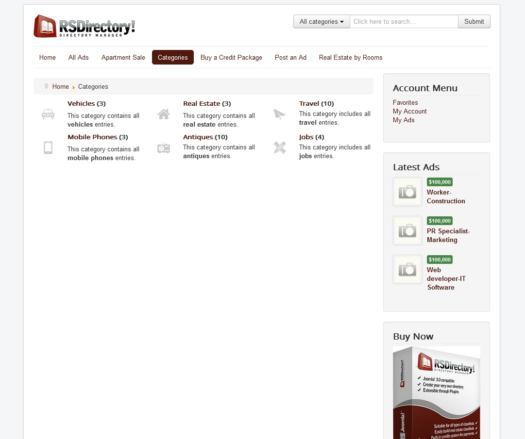 RSDirectory! - Brand new Directory Management System