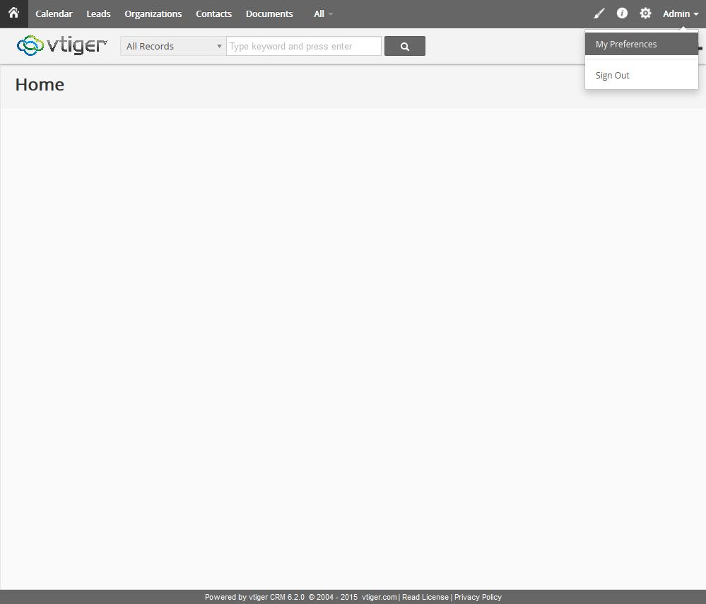 Plugin - vtiger CRM (Capture leads)
