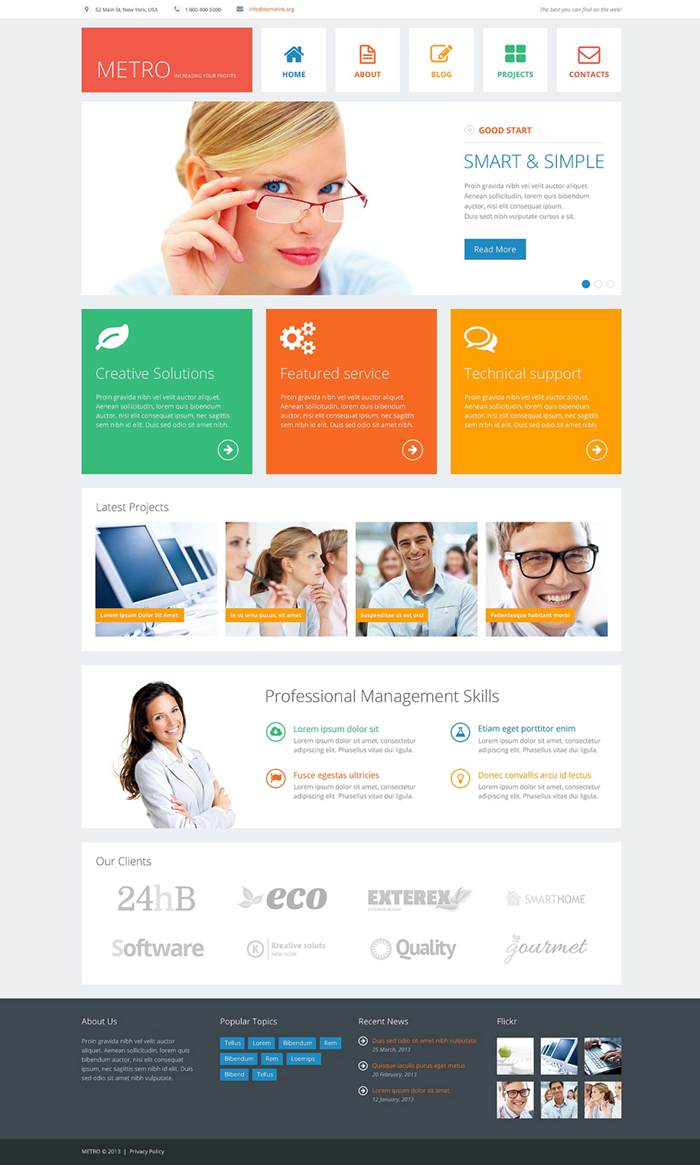 30 off premium joomla templates business template flashek Images
