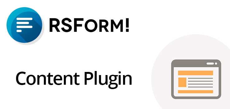 The RSform content plugin (mosforme)