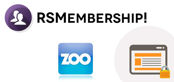 RSMembership! Shared Content - ZOO Plugin