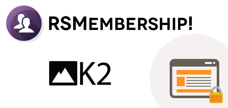 RSMembership! Shared Content - K2 Plugin
