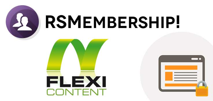 RSMembership! Shared Content - FlexiContent Plugin